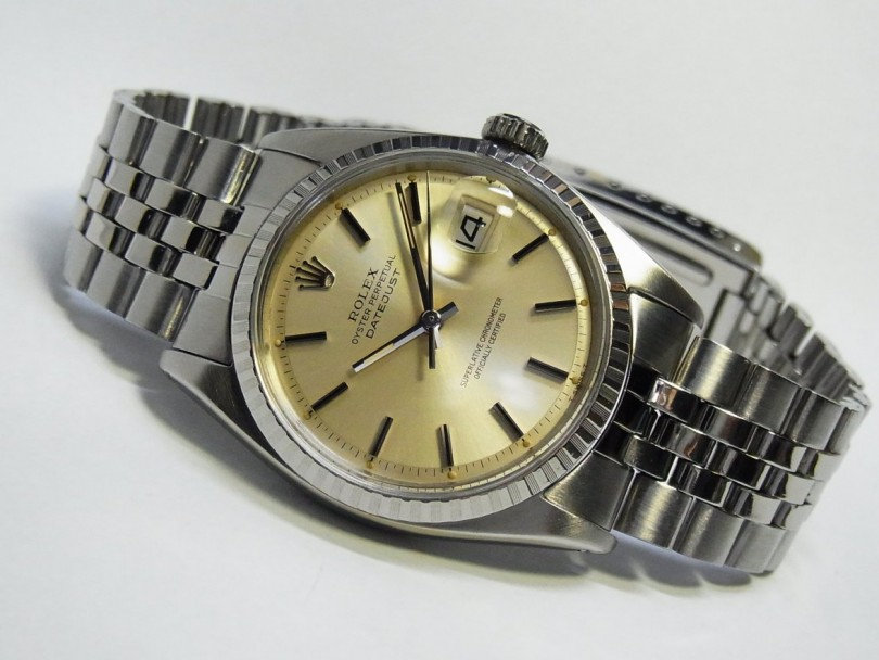 Champagne Dial Rolex Datejust
