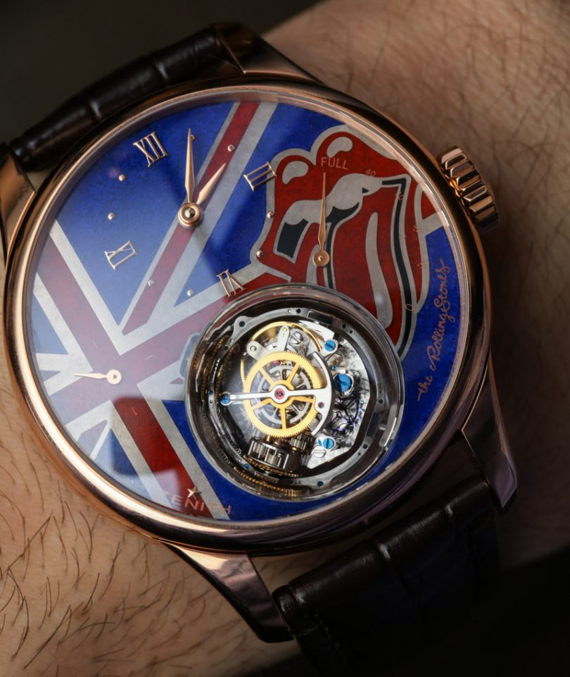 Zenith Academy Christophe Colomb Tribute To The Rolling Stones Watch Hands-On Hands-On