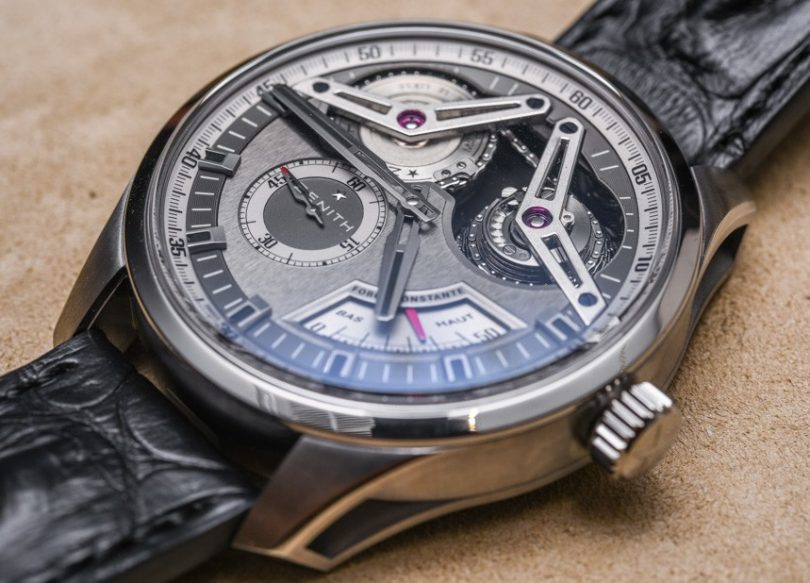 Zenith Academy Georges Favre-Jacot Titanium Watch Hands-On Hands-On