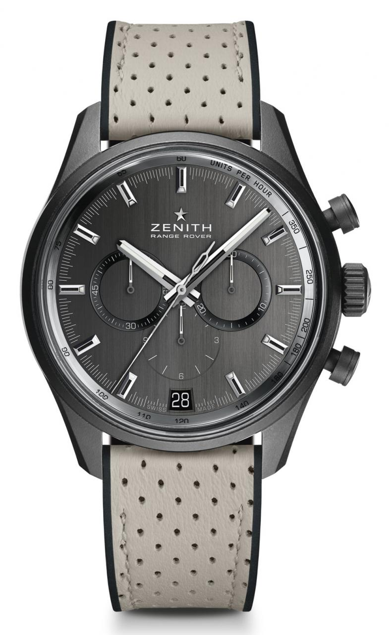 Zenith El Primero Range Rover Watches Debut Official Relationship With Land Rover Watch Releases