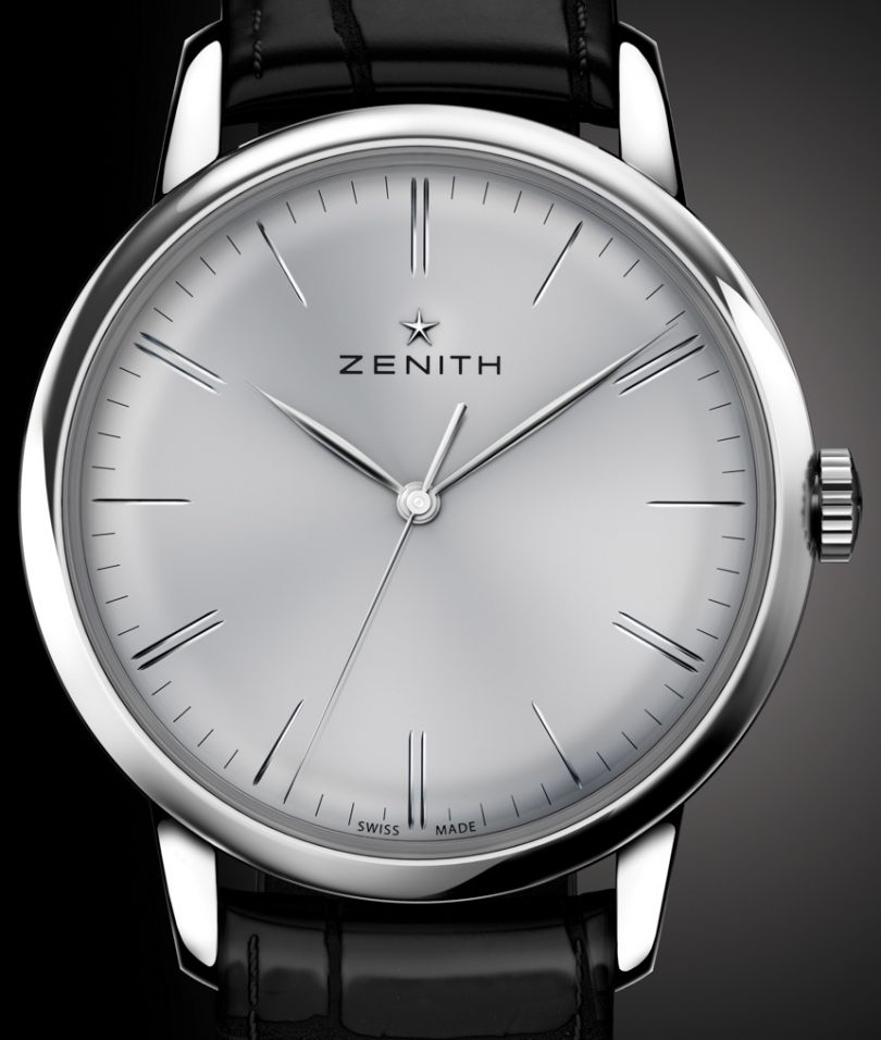 Zenith Elite 6150 Watch With New Zenith In-House Movement Inside Watch Releases