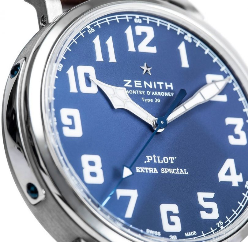 Zenith Pilot Extra Special Watch Collaboration With The Watch Gallery Watch Releases