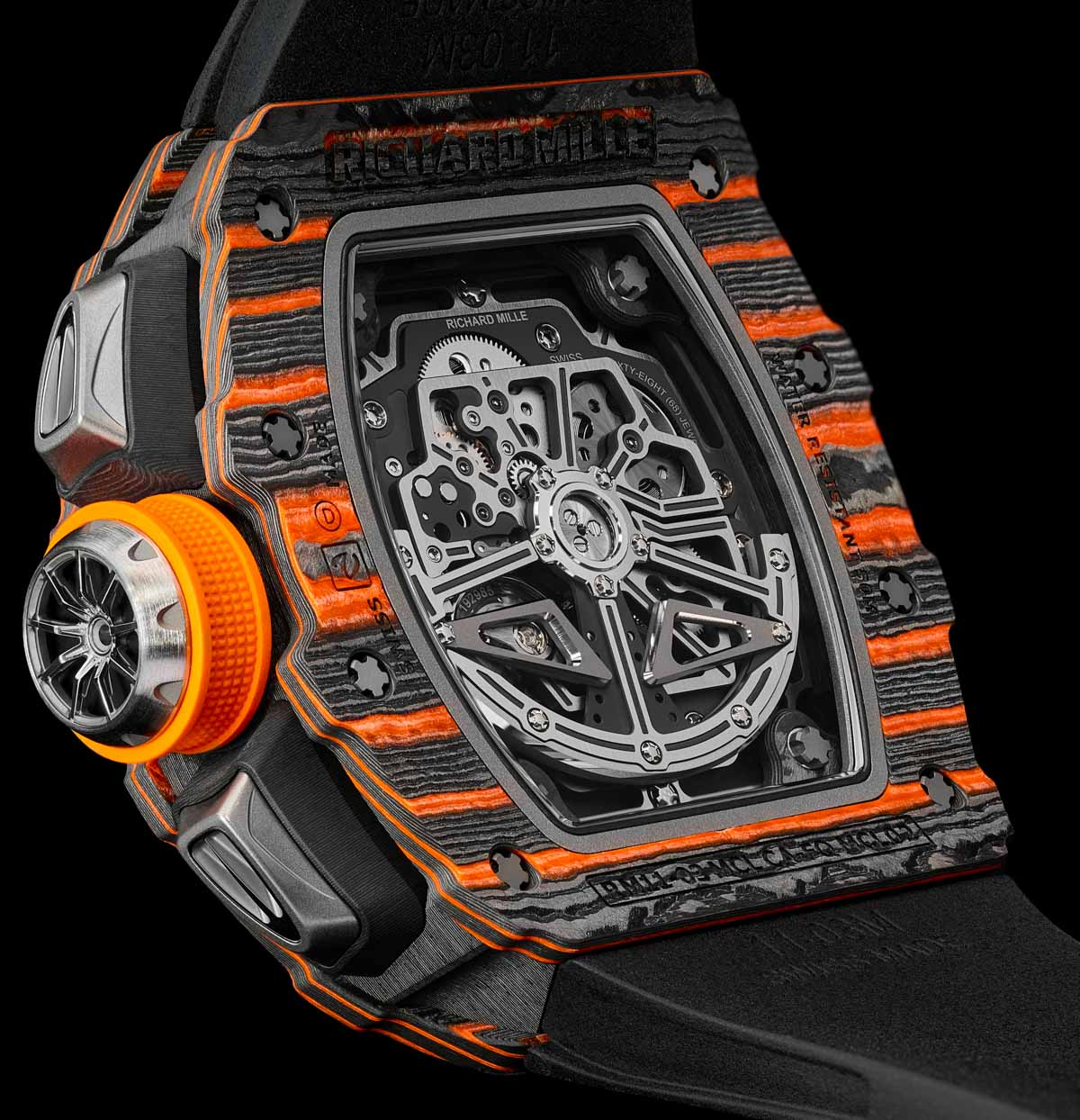 Richard Mille RM 11-03 McLaren Automatic Flyback Chronograph Watch Releases